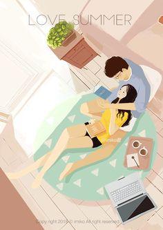 微爱情系列 · 动图(三) - 原创作品 - 站酷(ZCOOL) Anime Love Couple, Cute Anime Couples, Cute Couple Drawings, Romantic Gif, Cute Love Gif, Gif Photo, Couple Illustration, Cartoon Gifs, Aesthetic Gif