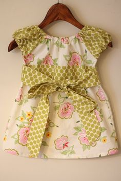 again, the Sweet Dress pattern by Leila & Ben, love how many different looks you can get with the one pattern.
