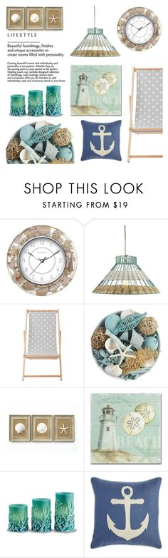 """""""Beach House"""" by pure-vnom ❤ liked on Polyvore featuring interior, interiors, interior design, home, home decor, interior decorating, FirsTime, Holly's House, Bloomingville and Pier 1 Imports"""