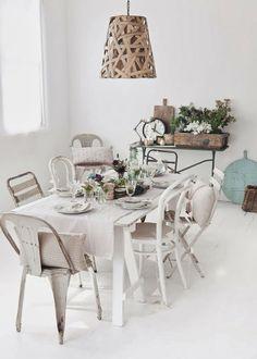 Une belle table de ... printemps/ Photo vía Zptizebypiekna
