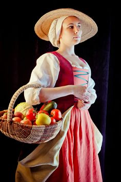 Me in renaissance flemish costume by Ekaterina Mikhaylova-Smolnyakova, via Flickr