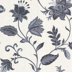 "La Belle Maison 33' x 20.5"" Floral and Botanical 3D Embossed Wallpaper Roll"