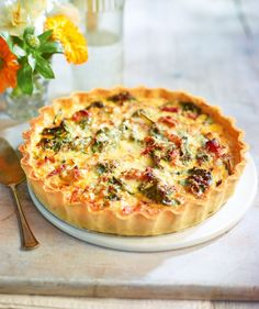 Try this easier-than-it-looks tart recipe for dinner then save the leftovers for lunch the next day.