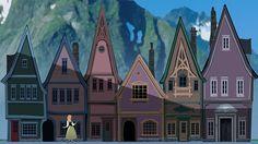 Frozen concept art by James Finch Disney Films, Disney And Dreamworks, Disney Art, Disney Pixar, Disney Stuff, Frozen Art, Disney Frozen, Environment Concept Art, Environment Design