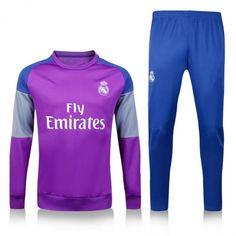 Chándal Real Madrid 2016 2017 Violeta Gris