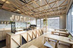 Jury Cafe by Biasol:Design Studio, Melbourne – Australia