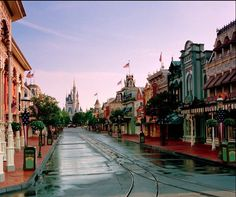 4. Dream location of my dream job.. Main Street USA in Walt Disney World! I honestly could stay there all day. It was designed to look like Walt's hometown,Marceline, Missouri, back when he was a child! #modcloth #makeitwork