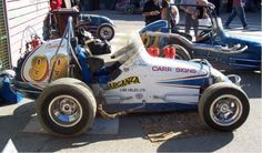 Leo Vercoe's ( ChevyII (Now Owned by an Aussie) Sprint Car Racing, Auto Racing, Go Karts For Sale, Vintage Race Car, Dirt Track, Indy Cars, Cars For Sale, Race Cars, Classic