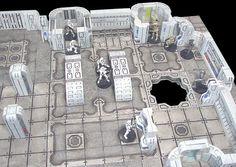 Hirst+Arts+Terrain   Hirst Arts Molds for building starship interior terrain