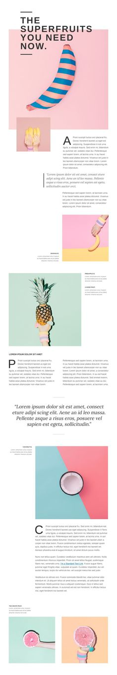 #inspiration design web website