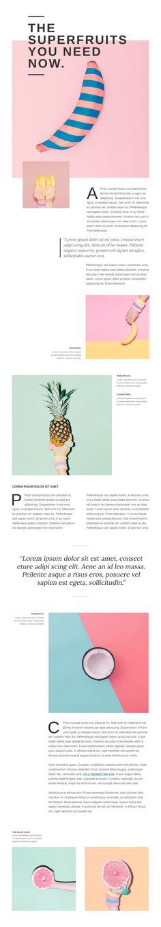 #inspiration design web website