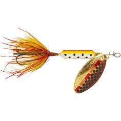 Yakima Worden's Original Rooster Tail Spinners, Tinsel Brown Trout