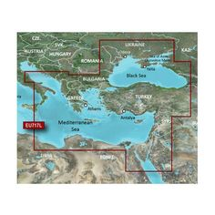 Garmin BlueChart® g2 Vision® - VEU717L - East Mediterranean & Black Sea - microSD™/SD™
