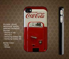 Coca Cola iPhone 4 / 4S case iPhone 5 case Samsung Galaxy S2 case Samsung Galaxy S3 case $15.99 usd
