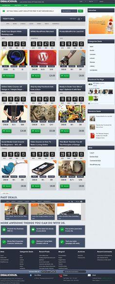 Dealicious Deal WordPress Theme By Tokokoo