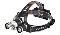 5000 Lumen Headlamp Rechargeable T6+2R5 Boruit Head Light Headlamp Outdoor Light Head Light by 2x 18650 Battery Fishing Camping #Affiliate
