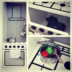 Ikea expedit kid's kitchen
