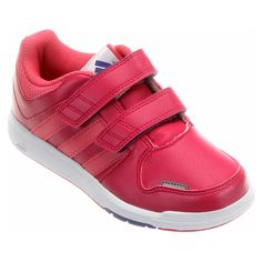 Tênis Adidas rosa escuro