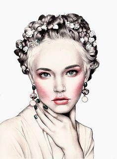 Fashion-рисунки Hanna Müller