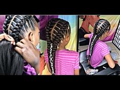 56 Dope Box Braids Hairstyles to Try - Hairstyles Trends Girls Natural Hairstyles, Baby Girl Hairstyles, Braided Hairstyles For Wedding, Braided Hairstyles Tutorials, Box Braids Hairstyles, Natural Hair Styles, Long Hair Styles, Teenage Hairstyles, Mixed Kids Hairstyles