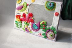 Райские птички — весенняя фоторамка в подарок - Ярмарка Мастеров - ручная работа, handmade