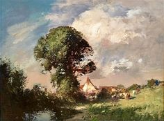 A Suffolk Farm by Edward Seago