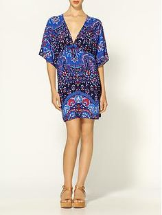Summer wardrobe: kimono dress from Piperlime
