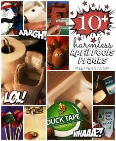 Ready to have some fun with pranks for kids? LONG list of harmless April Fool's Day jokes. Harmless Pranks, Easy Pranks, Pranks For Kids, Good Pranks, April Fools Day History, April Fools Day Jokes, April Fools Tricks, Parents Meeting, The Fool