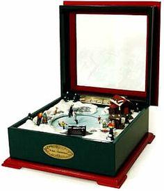 Crosley Music Box White Christmas Music Box