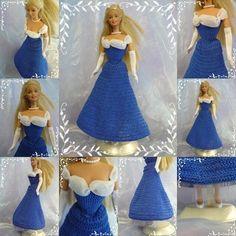 Bonjour � toutes j'ai fini la mise en page du tuto de la robe de gala de Barbie. Je ne vais pas blablater pour rien aussi si vous souhaitez r�aliser la robe ci-dessous, il suffit simplement de cliquer sur la photo. N'h�sitez pas � m'envoyer une photo...