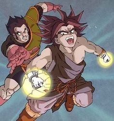 Paragus and Broly