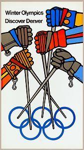 Page Moved. Please Wait. Denver Colorado, 1976 Olympics, 3rd Grade Art Lesson, Xc Ski, Vintage Ski Posters, Retro Illustration, Illustrations, Ski Vacation, Alpine Skiing