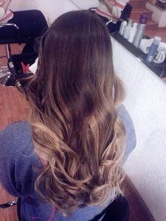 Flamboyage y Sombre Hair