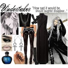 || Undertaker ~ Black Butler || by miyu-san on Polyvore