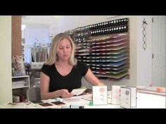 Stampin Up Tissue Paper Technique with Brandy Cox video tutorial.