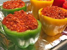 Easy Stuffed Bell Peppers step7
