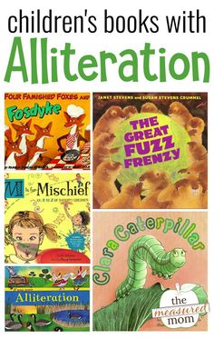 Teach students how to have fun with figurative language by reading aloud these books with alliteration! #figurativelanguage