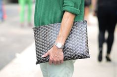The Best Man Totes of Goyard Clutch Goyard Clutch, Goyard Handbags, Mens Handbags, Man Clutch, Goyard Men, Discount Designer Handbags, Designer Bags, Fashion Bags, Mens Fashion