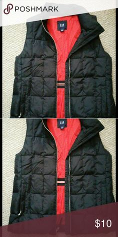 Like new Gap vest Pet and smoke free home Worn once for pictures Like new condition GAP Jackets & Coats Vests