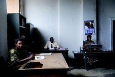 Guy Tillim: Typists, Likasi, DR Congo, 2007. Courtesy of Guy Tillim and Stevenson, Cape Town/Johannesburg