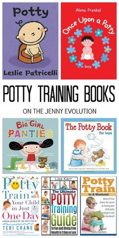 Potty Training Books for Toddlers and Parents | The Jenny Evolution