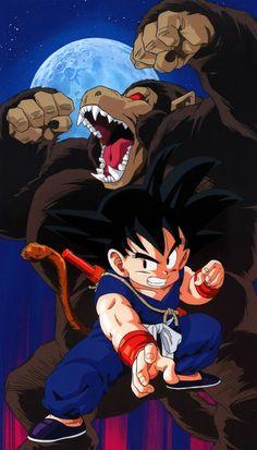 Dragon Ball anime Akira Toriyama Son Goku Oozaru