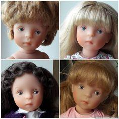 Новые Минуши Петитколин / Sylvia Natterer, Сильвия Наттерер. Коллекционно-игровые куклы / Бэйбики. Куклы фото. Одежда для кукол