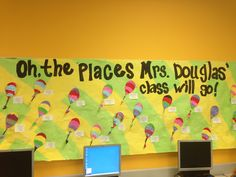 Oh The Places You'll Go Mural