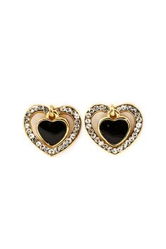 Spade of Hearts Earrings in Jet | Emma Stine Coupons, Reviews and Savings
