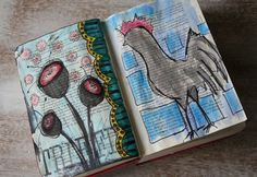 Repurpose A Book - Art Journal