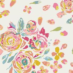 Maureen Cracknell - Fleet and Flourish - Swifting Flora in Fond | would it coordinate with Millie Fleur?