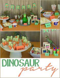 Dinosaur Party #TriplePFeature