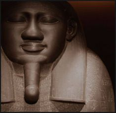 General Kheper. 26th Dynasty, Kemet.   Khepera is the Supreme Being as eternally transforming, never stagnant. It is imperative that you understand that Kushite-Kemetic spiritual science is not a religion. It is a science to understand the powers of the Supreme Being in the universe and in you. Unlike religion, science requires its theories to constantly be wrong and discover the correction and then be wrong again and correct that. It is a cycle of research and discovery. Hidden Face, Ancient Egypt, Black History, Civilization, Supreme, Religion, Spirituality, Statue, Discovery