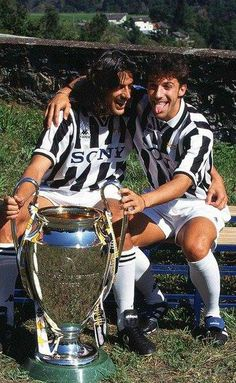 good ole days! #DelPiero #Torricelli #champions